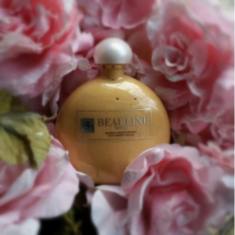 Sparkle moisturizing Gold body cream